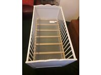 Baby's Cot With Mattress