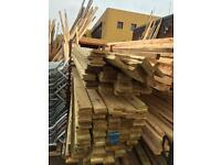 5x1 16ft treated decking £6 each
