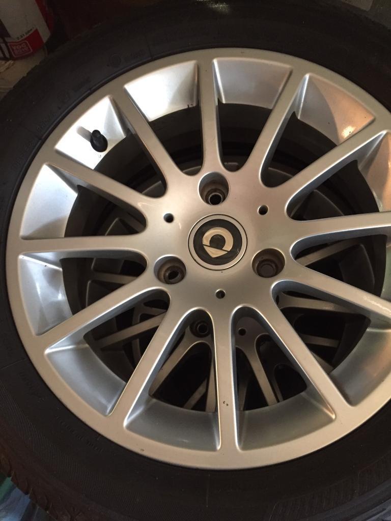 Smart Car Alloys Wheels 451 In Edmonton London Gumtree