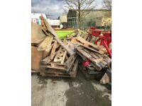 Free to collector pallet wood wooden boxes blocks & planks ideal burning log burner or DIY project