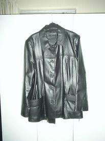 Ladies Leather Jacket size 20