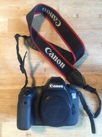 Canon EOS 6d body with canon EF 35mm f/2 IS USM lens (Price reduced for a quicker sale)