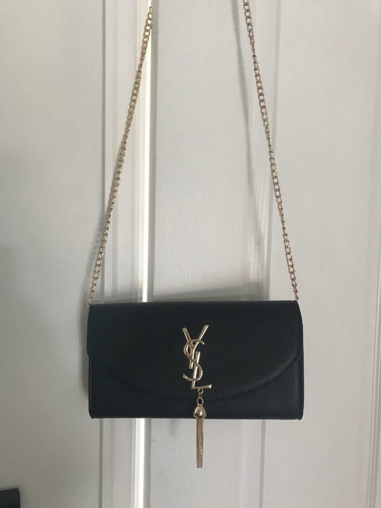 Ysl style Clutch bags for salein Bootle, MerseysideGumtree - Ysl clutches for saleDetachable shoulder chain Black,navy,pink and beige Excellent quality guaranteed Free post