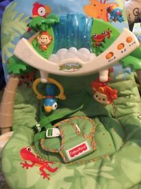 Fisher price Rainforest Musical Bouncer
