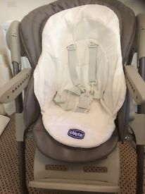 poly magic highchair .can be used from birth