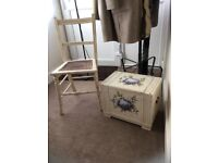 Decorative chair and box