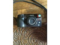 Olympus Superzoom 110 35mm Compact Camera in Case
