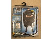 Kids batman costume age 4-6