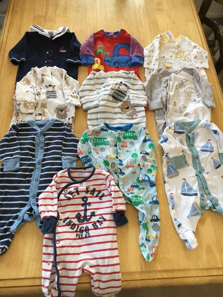 0-3 massive summer boys clothing bundle