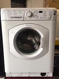 Hotpoint white good looking 7kg 1400spin washing machine