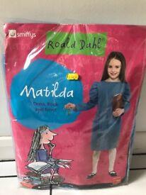 Ronald Dahl Matilda fancy dress, book & newt
