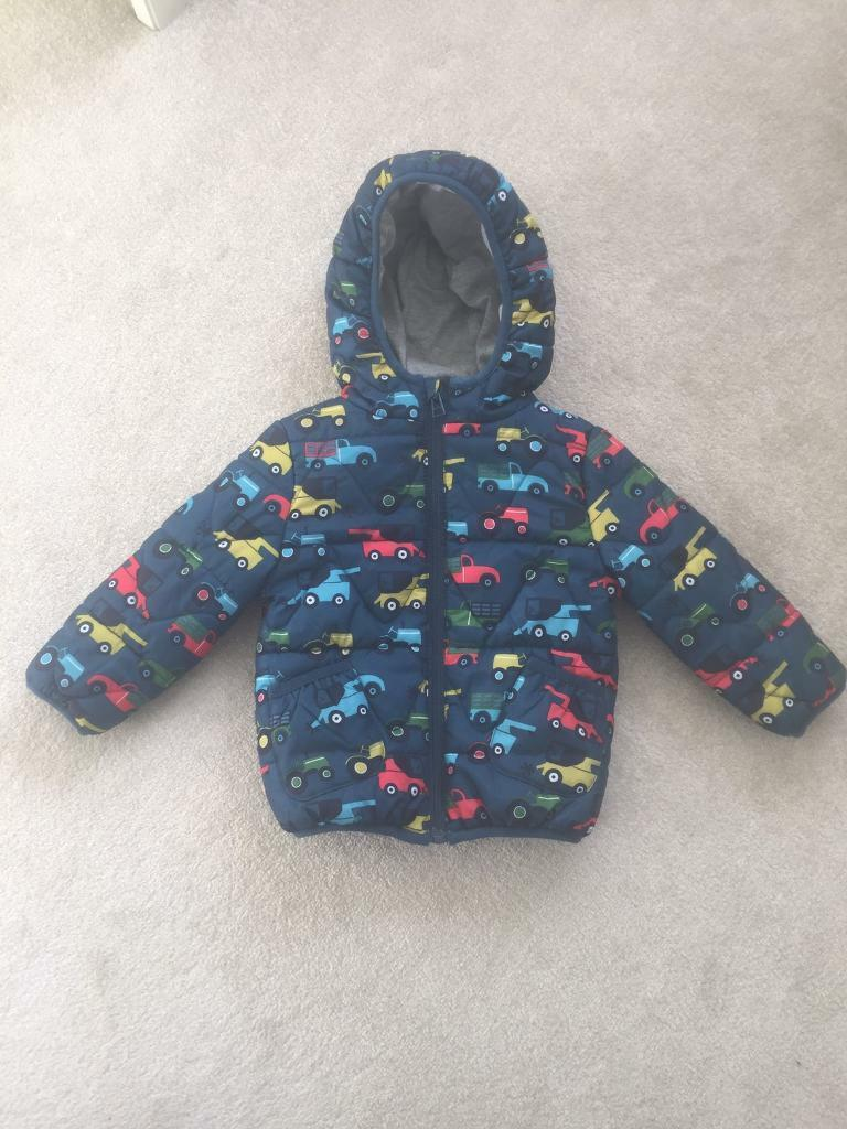 a62c11d2081a M and S Baby Boy s Winter Coat