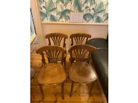 Sell 4 bistro chairs