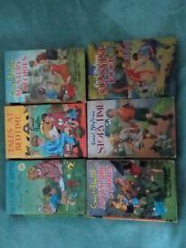 6 Enid Blyton books. Genuine retro