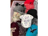 Branded baseball caps AEO x100 wholesale joblot