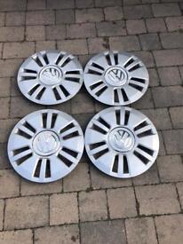 "VW hub caps 15"""