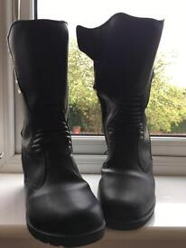 Ladies motorcycle boots size 42