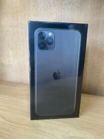 iPhone 11 Pro Max 256GB Gray, Unlocked to all Networks. Sealed box with apple Warranty