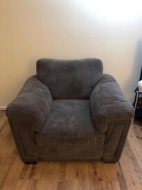 Practically new armchair