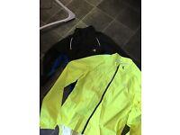 2 men's cycling jackets