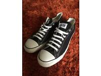Men's Black All Star Chuck Taylor Converse Shoes / Trainers Size 11