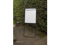 Flip Chart Stand and White Board - Folds Flat and Portable