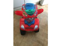 Micky mouse quad electric 6v ride on!!