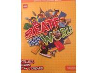 Lego Sainsbury's Create the World card swaps