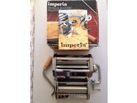 Imperia Double cutter pasta making machine Plus extra Spaghetti maker.