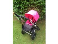 Bugaboo Cameleon 1 with pink covers