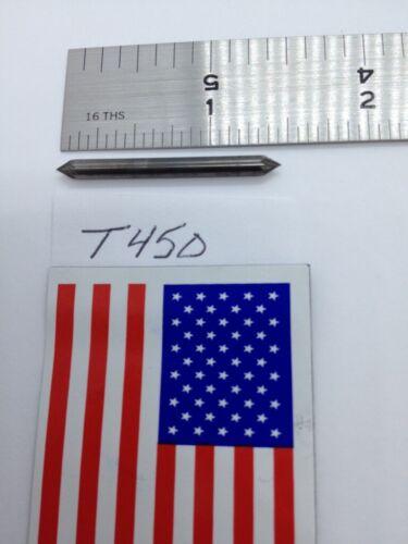 "NEW FALCON / SGS 1/8"" SH CARBIDE BURR. SJ-42 60° INCLUDED ANGLE SINGLE CUT -T450"