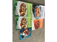 Various recipe books £2 each