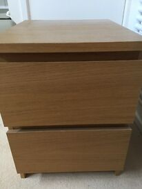 2 x Chest of 2 Drawers