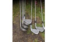 10 golf clubs £10