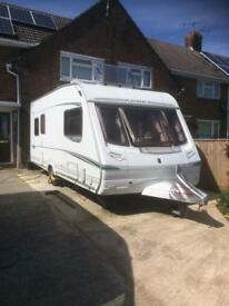5 berth Abbey caravan, ready to go