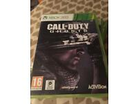 Call of duty ghosts x box 360 game