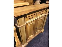 New-solid wood sideboard