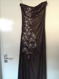 Gorgeous Strapless Dress by Jane Norman Size 8-10 Fully Lined