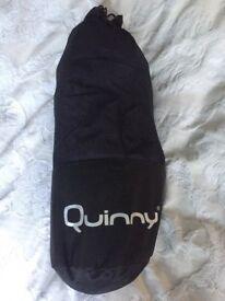 Quinny purple footmuff
