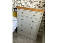 Tall chest of drawers and 2 x wardrobes SOLID PINE