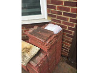 Free roof tiles and paving slabs