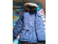 Mens Carharrt Anchorage Parka Jacket - As New