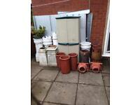 Large choice of Chimney pots & Terracotta Caps/Cowls
