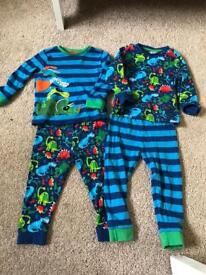 Pair of boots pjs size 1 1/2 to 2 years