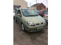 renault scenic 1.6 cheap part ex to clear