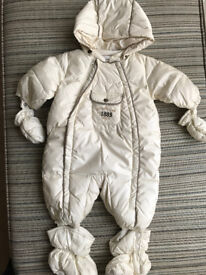 BOY WINTER BABY JUMPSUIT