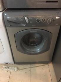 95.hotpoint silver 7kg washing machine