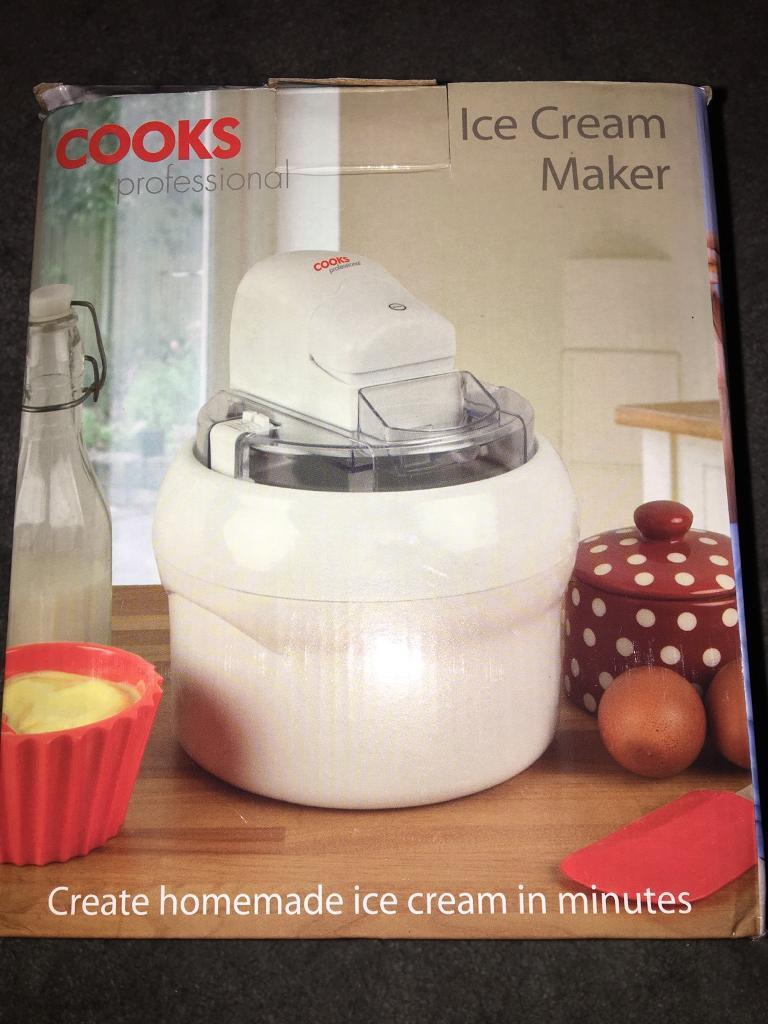 Cooks Professional Ice Cream Maker-Brand New