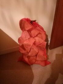 Good full bags of dry firewood £3