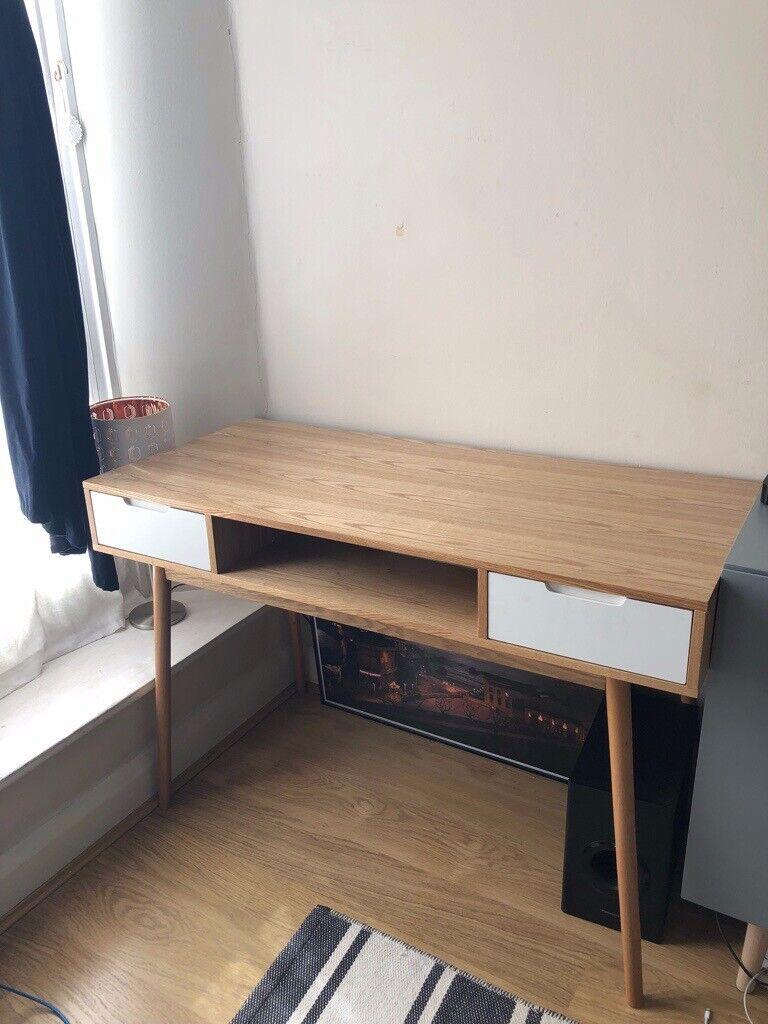 Vintage 2-Drawer Desk Fjord by Maisons du Monde | in South Kensington,  London | Gumtree